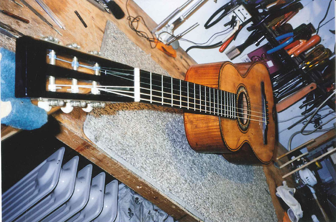 Old European Guitar