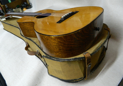 R.S. Williams & Son Guitar Restoration Project